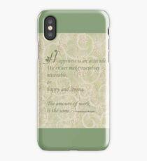 Happiness Quote  iPhone Case/Skin