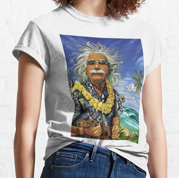 VENDEDOR CALIENTE: Albert Einstein Surfing God Camiseta clásica