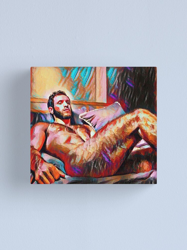 Alternate view of Naked Regret Canvas Print