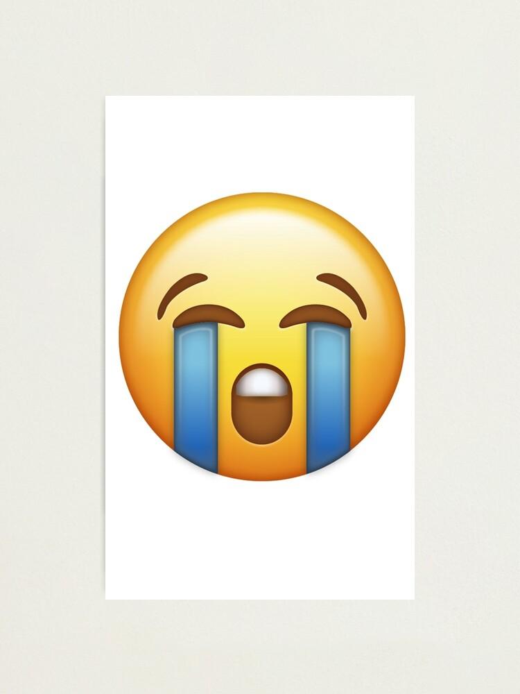 Weinendes Smiley