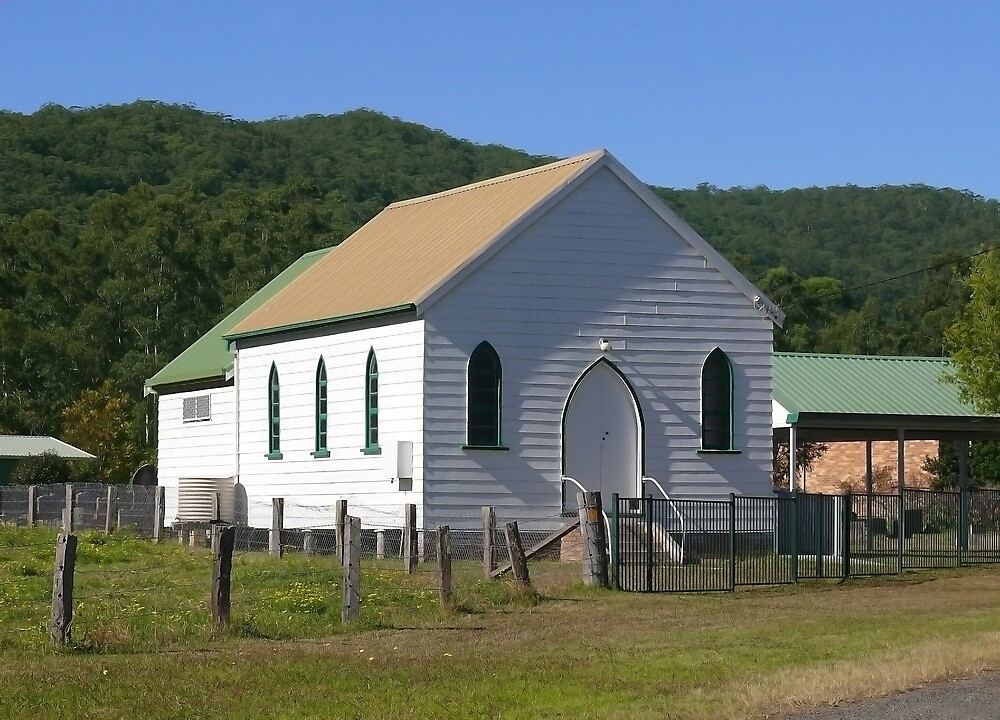 Uniting Church, Brunkerville, NSW by Sharon Brown