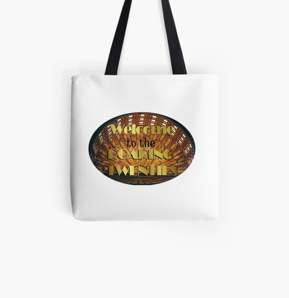 1920s All Female Band Tote bag Roaring 20s Jazz Age