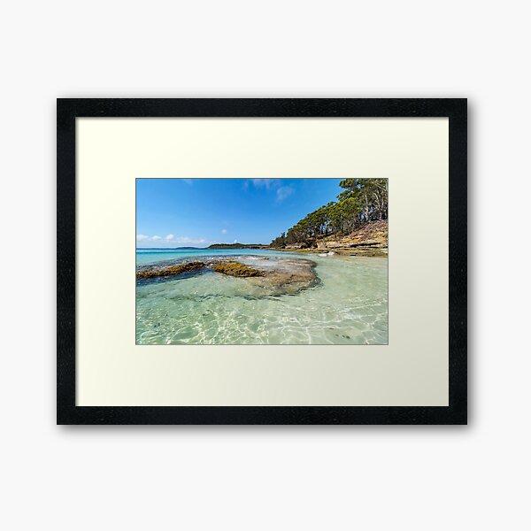 Murrays Beach Beauty  Framed Art Print
