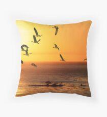 Migrating Throw Pillow