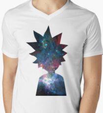 Rick and Morty Galaxy Design T-Shirt