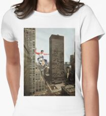 URBAN SK8. Womens Fitted T-Shirt