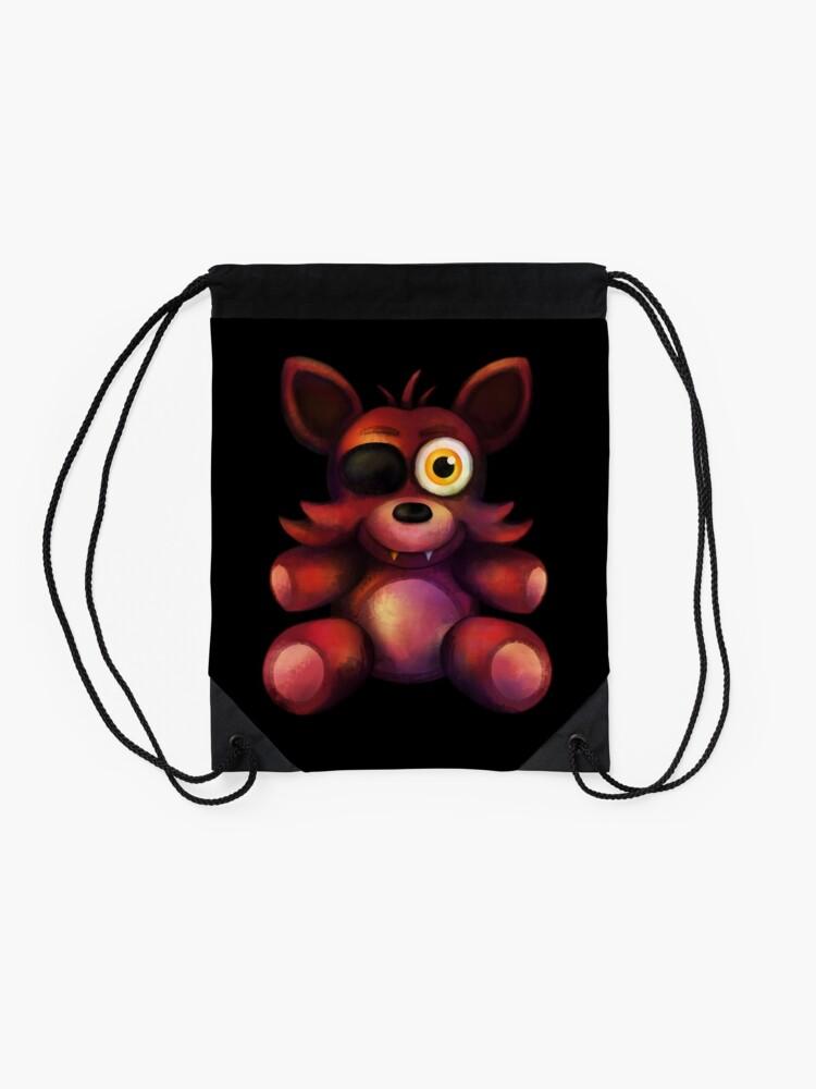 Alternate view of Five Nights at Freddy's - Fnaf 4 - Foxy Plush Drawstring Bag