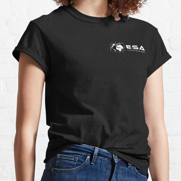 ESA logo Black T-shirt classique