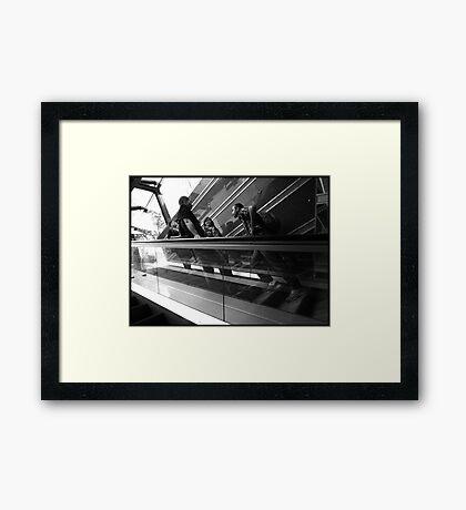 The Subway Framed Print