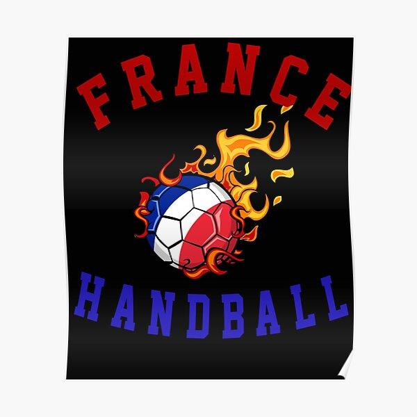 France Handball, Blues Handball Poster