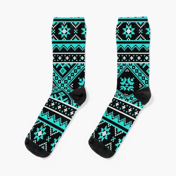 #Ukraine #Pattern - Ukrainian Embroidery: вишивка, vyshyvka #UkrainianPattern #UkrainianEmbroidery Socks
