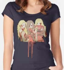 Zombie Unholy Trinity v.2 Women's Fitted Scoop T-Shirt