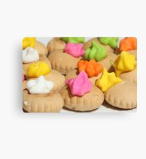 Sweet Biscuits Canvas Print