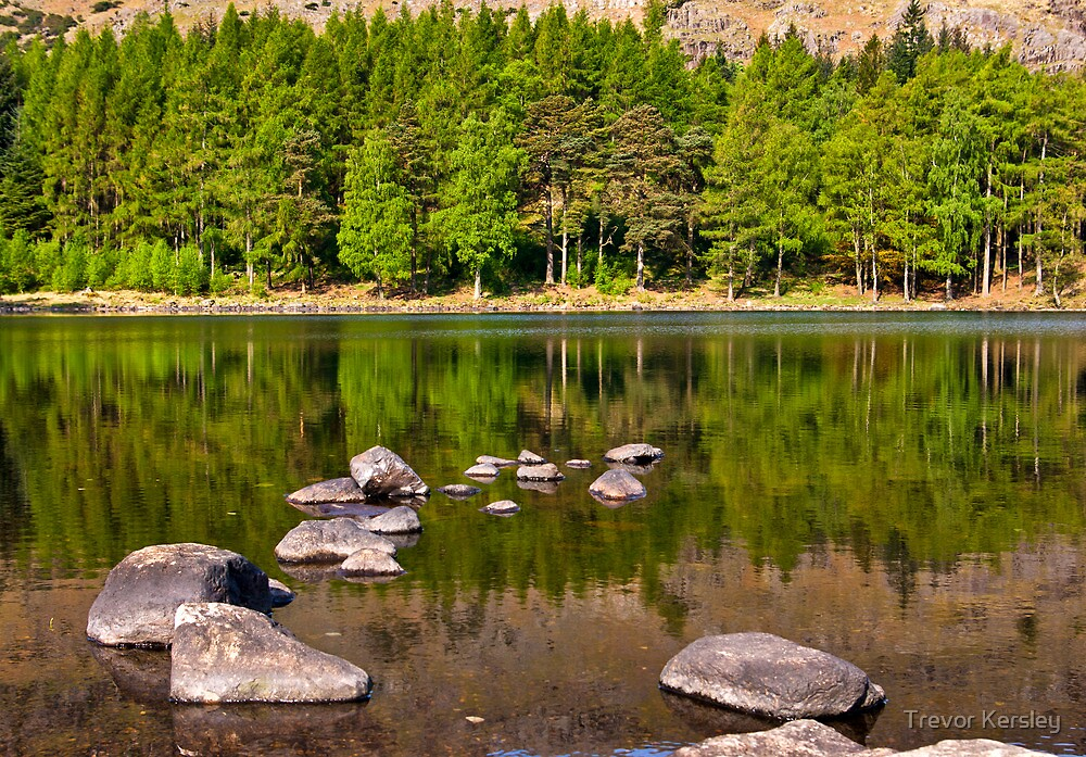 Still Waters - Blea Tarn by Trevor Kersley