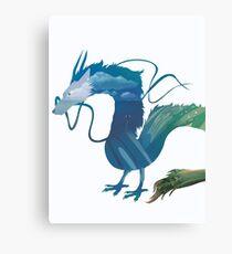 Haku Spirited Away Canvas Print
