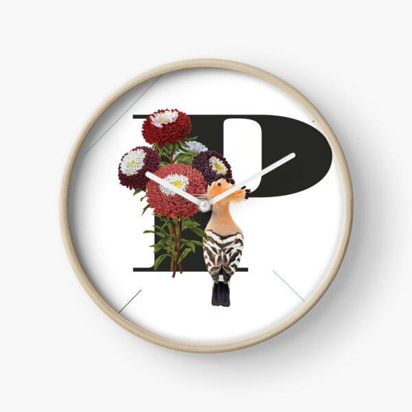 Botanical Alphabet P Uhr