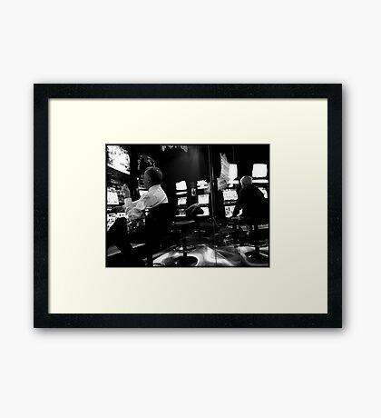 The Pokies Framed Print