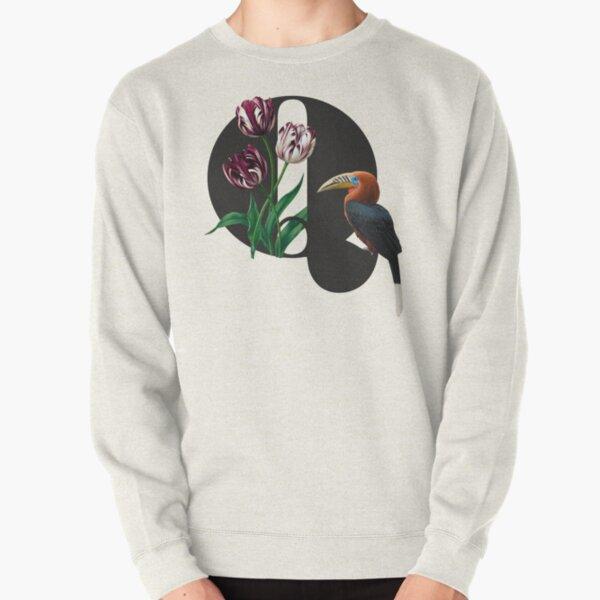 Botanical Alphabet Q Pullover