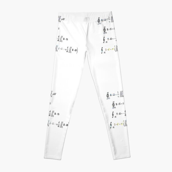 Maxwell's equations are partial differential equations that relate the electric and magnetic fields to each other and to the electric charges and currents Leggings