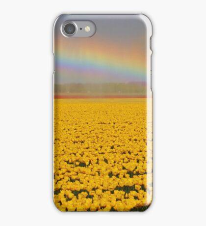 Rainbow & Tulips iPhone Case/Skin