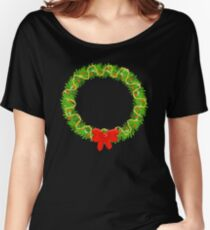 Holiday Wreath Women's Relaxed Fit T-Shirt