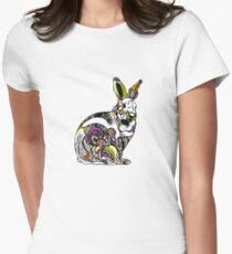 bunny Women's Fitted T-Shirt