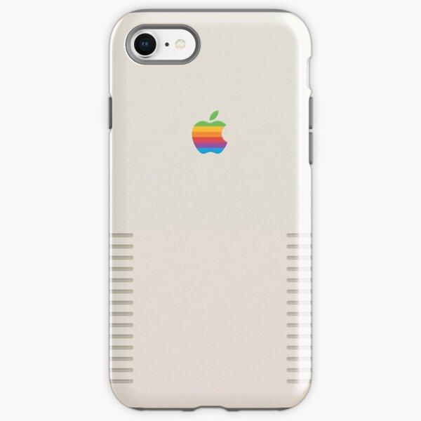 Retro apple design iPhone Tough Case