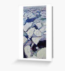 ice melt Greeting Card
