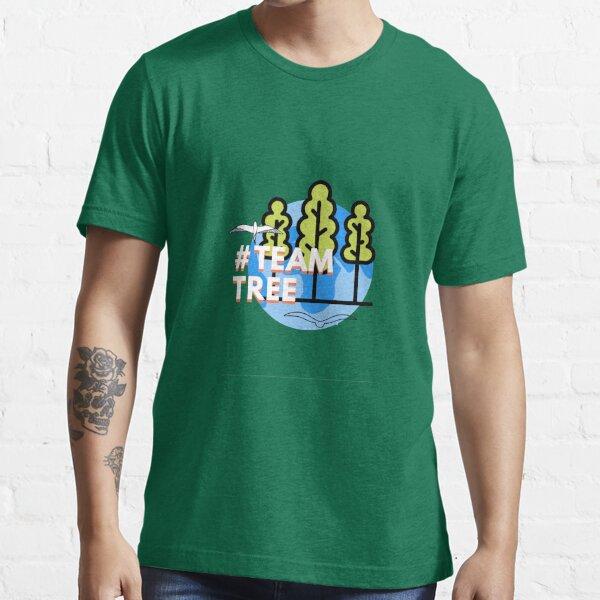 #TeamTrees Logo plant 20 Million Trees Essential T-Shirt