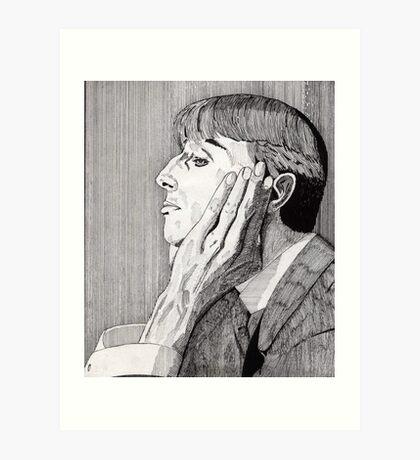 133 - AUBREY BEARDSLEY (INK) 1987 Art Print