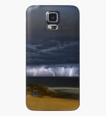 City Beach Spring Storm Case/Skin for Samsung Galaxy