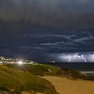 City Beach Spring Storm by 16images