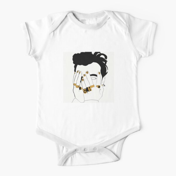 Harry Styles Short Sleeve Baby One-Piece