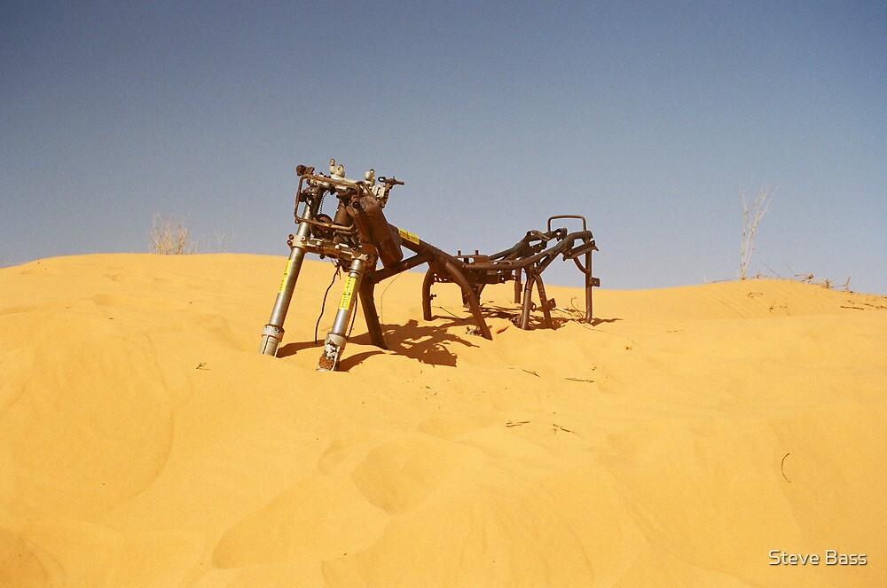Simpson Desert Crossing by Steve Bass