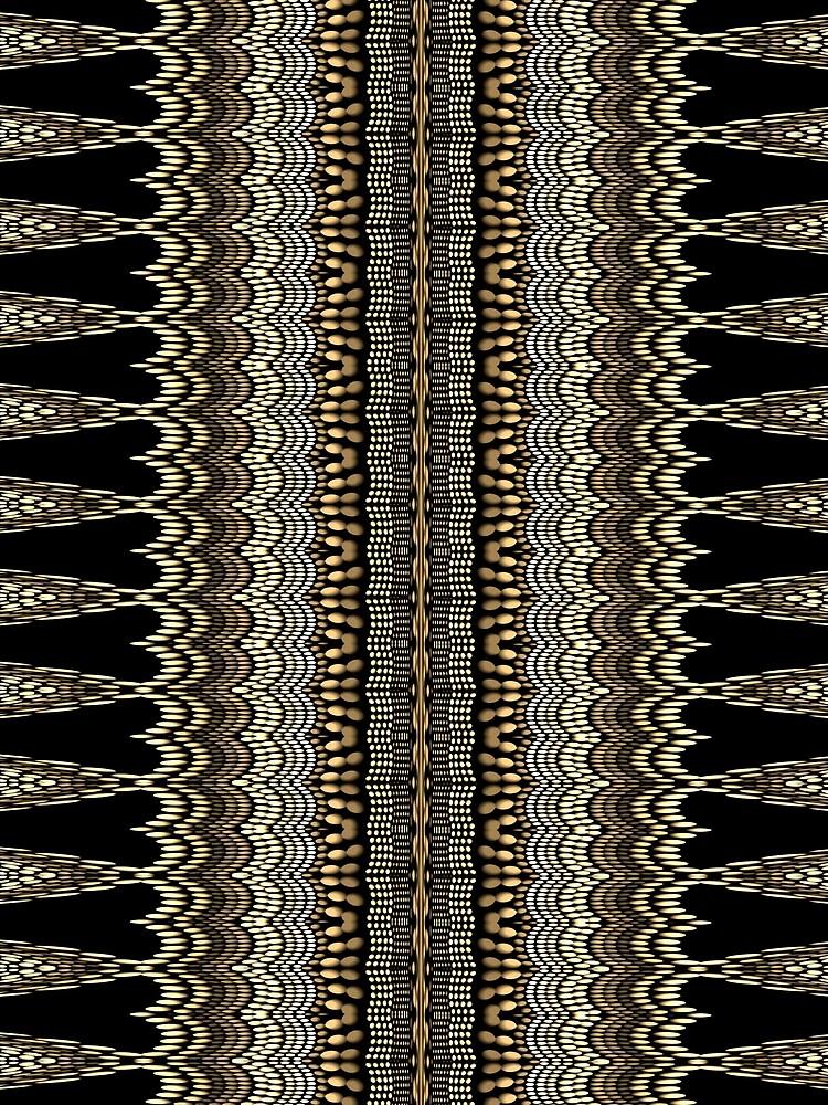 Golden Crochet by vkdezine