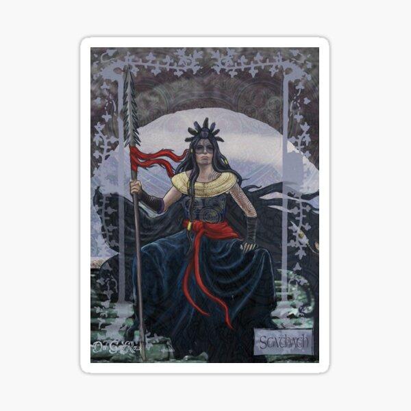Celtic Goddess - Scathach Sticker