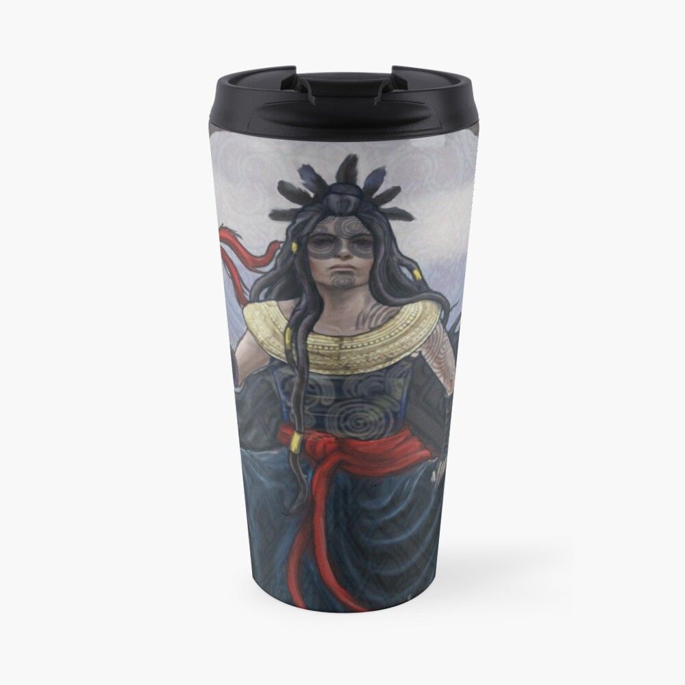 Celtic Goddess - Scathach Travel Mug