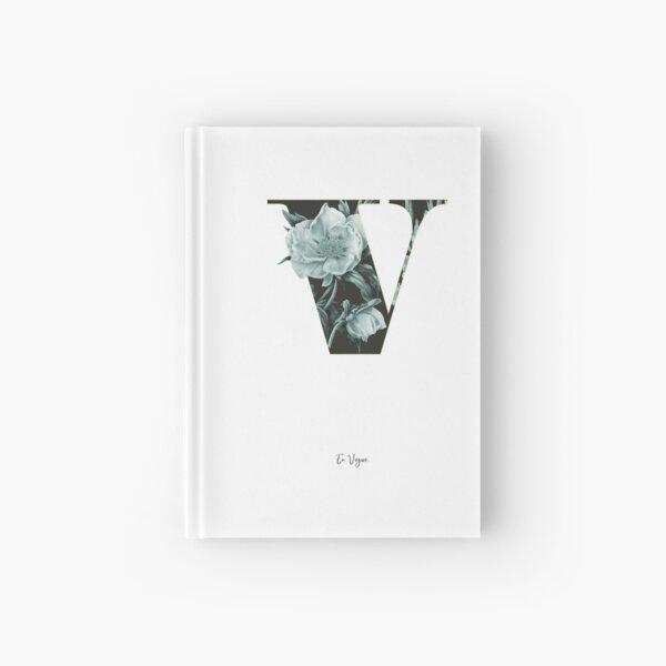 Flower Alphabet V Notizbuch