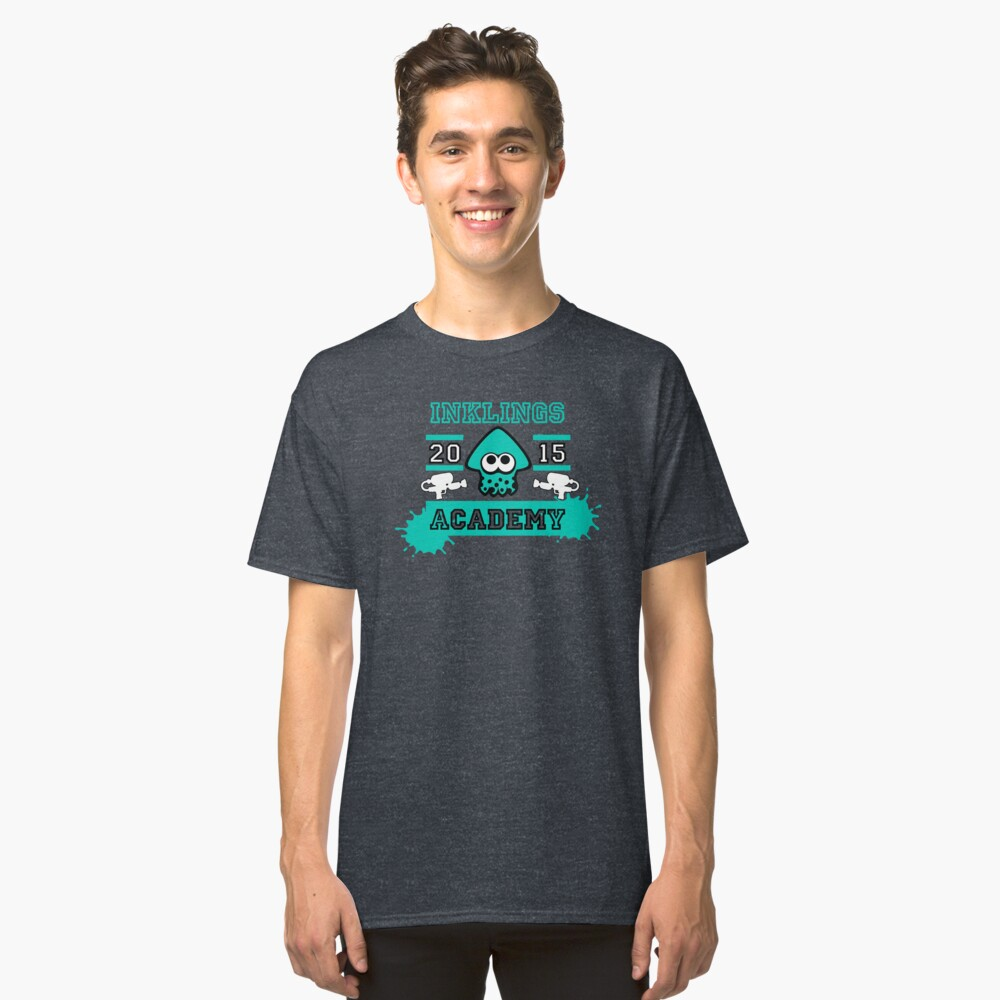 T-shirt classique « SPLATOON ACADEMY TURQUOISE»
