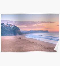 Pastels @ Dawn - Warriewood & Mona Vale Beaches,Sydney - The HDR Experience Poster