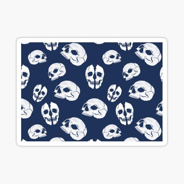 Skull pattern Sticker