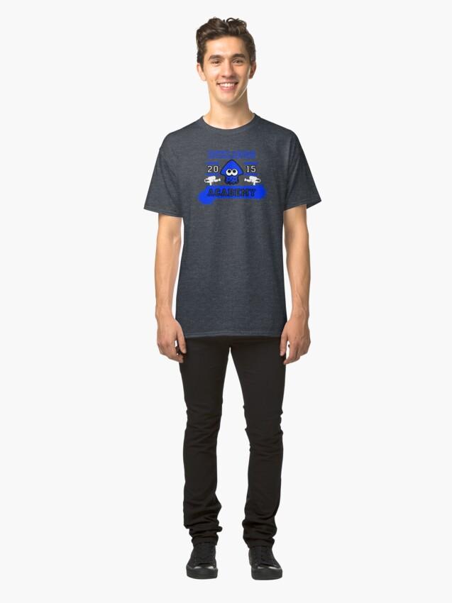 T-shirt classique ''SPLATOON ACADEMY BLUE': autre vue
