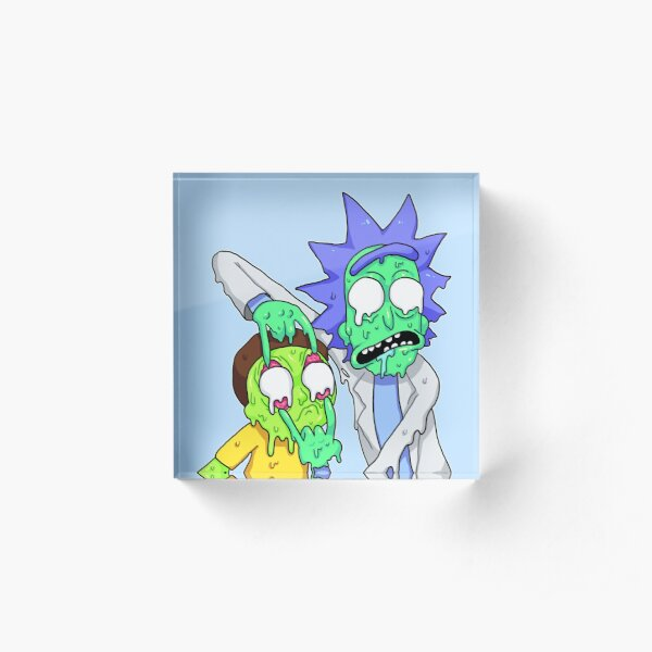 Rick and Morty  Acrylic Block