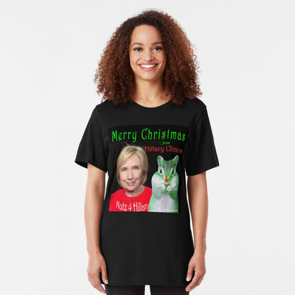 Nutz 4 Hillary Xmas Slim Fit T-Shirt