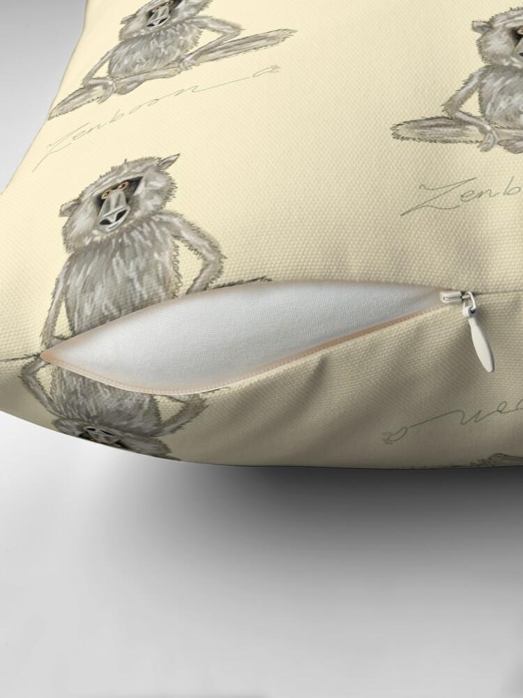 Alternate view of Zenboon Throw Pillow