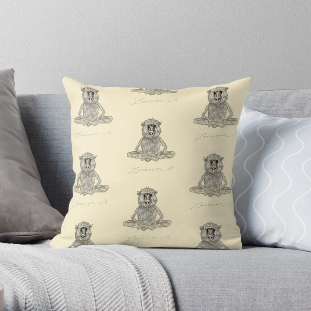 Zenboon Throw Pillow