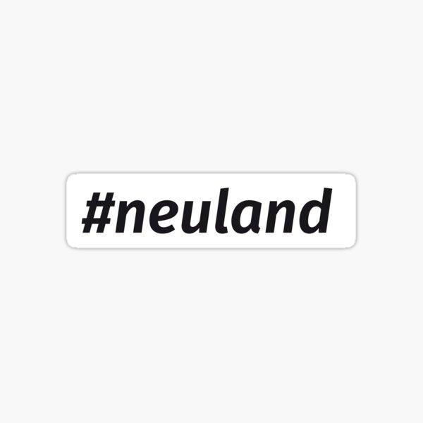 #neuland Sticker