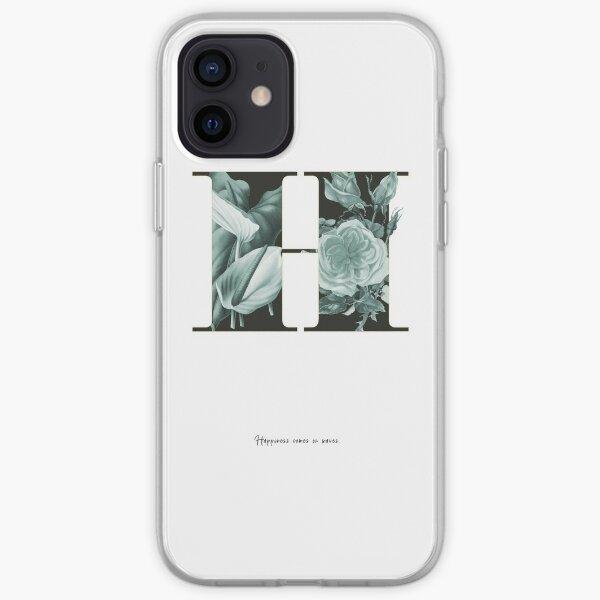 Flower Alphabet H iPhone Flexible Hülle