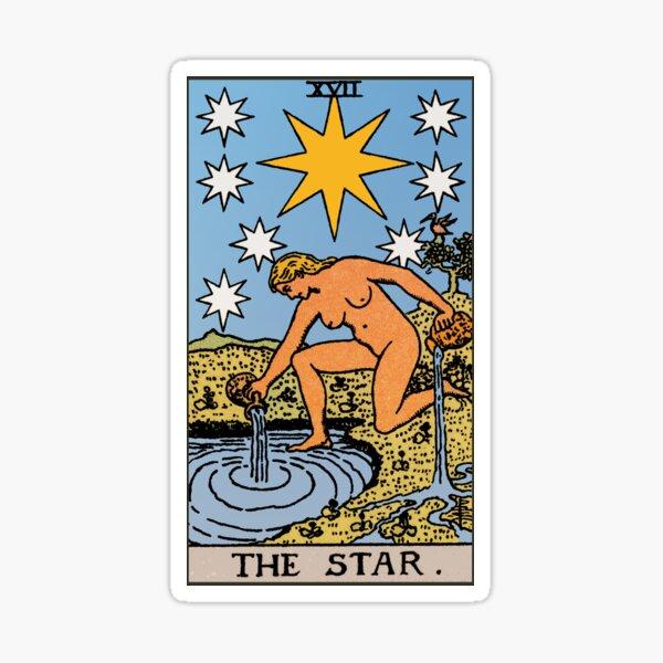 Tarot - The Star Sticker