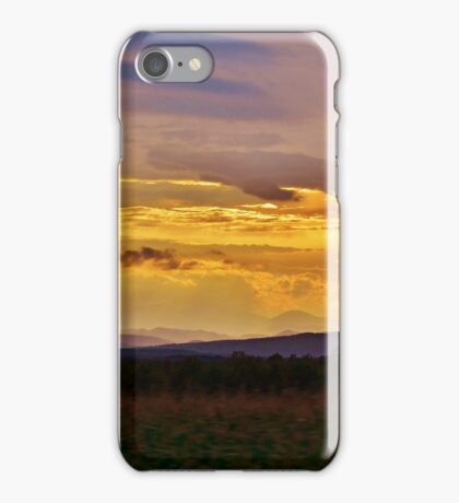 Sunset on the Mountain iPhone Case/Skin